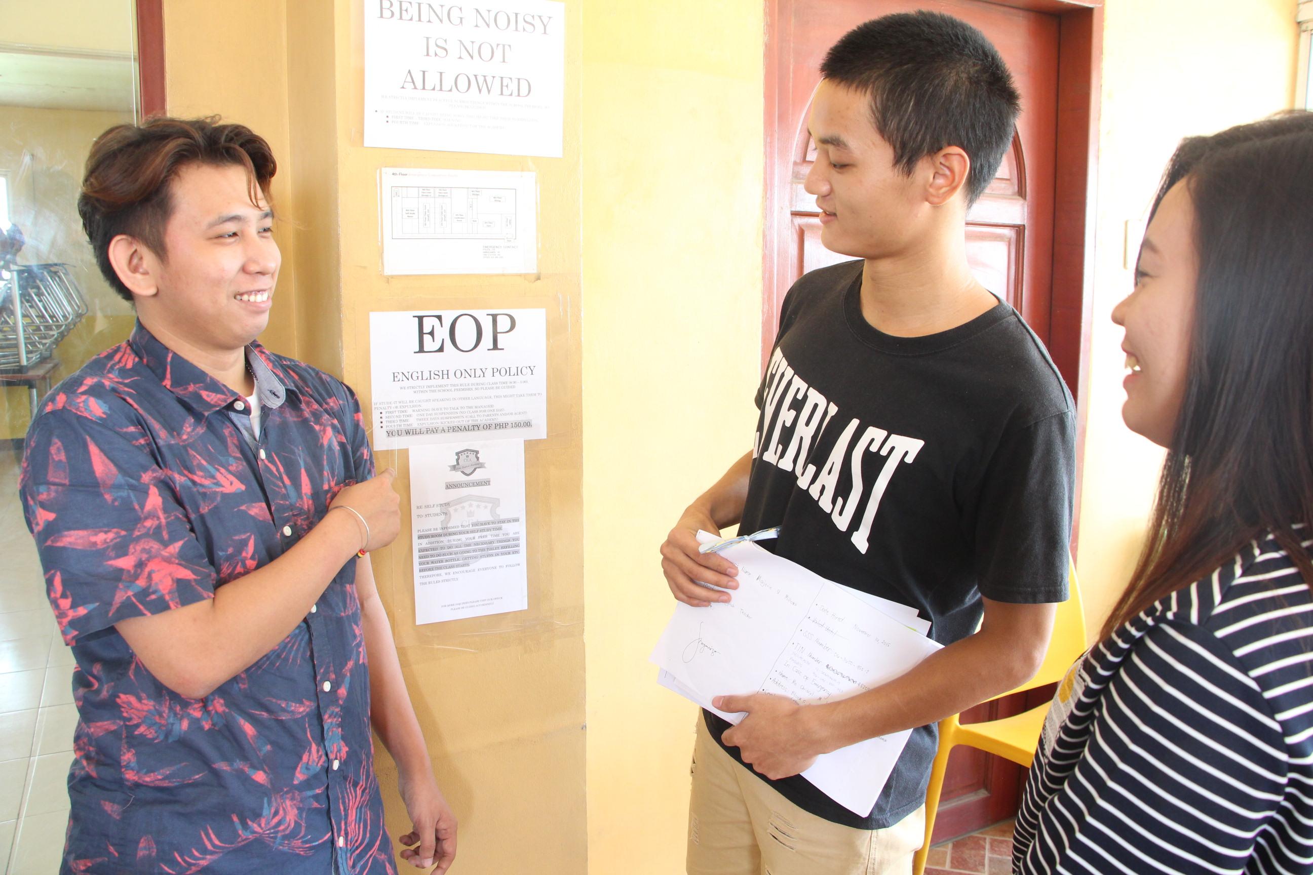 フィリピン・セブ島留学、学校新着情報